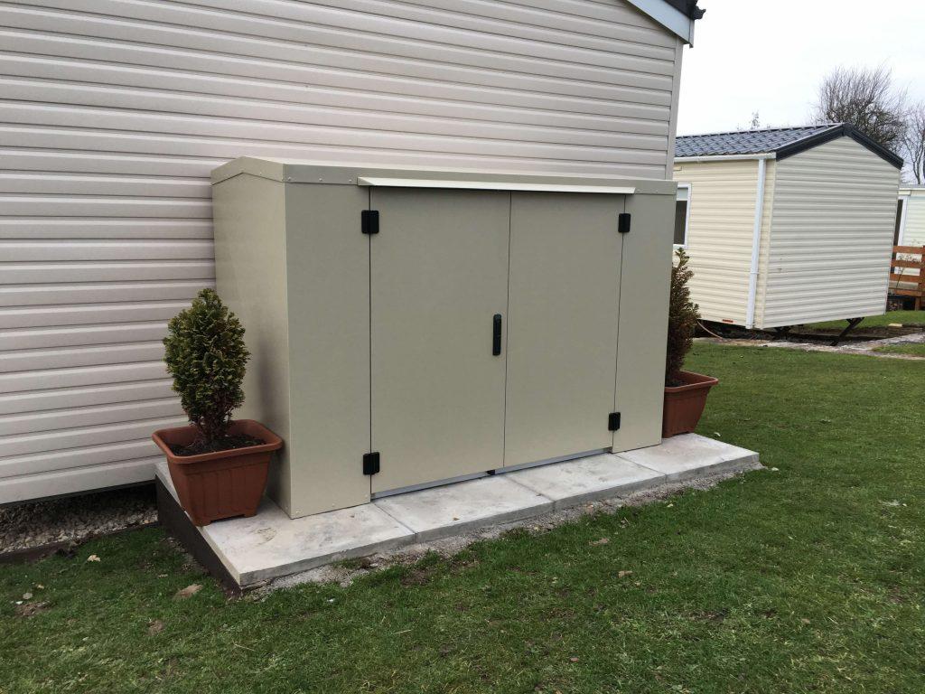 Caravan storage box